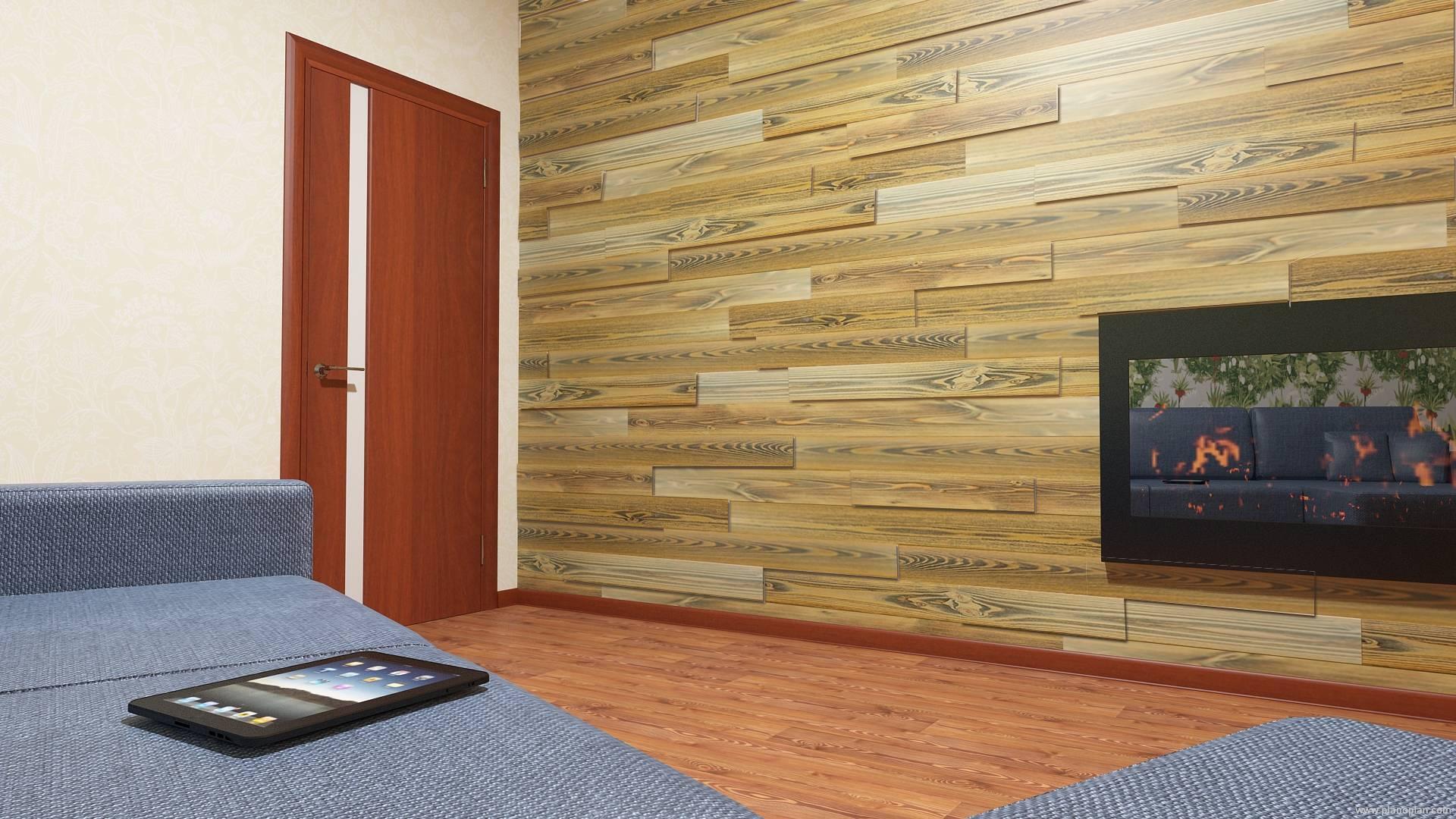 Деревянные панели для отделки стен: внутренняя и фасадная отделка дома