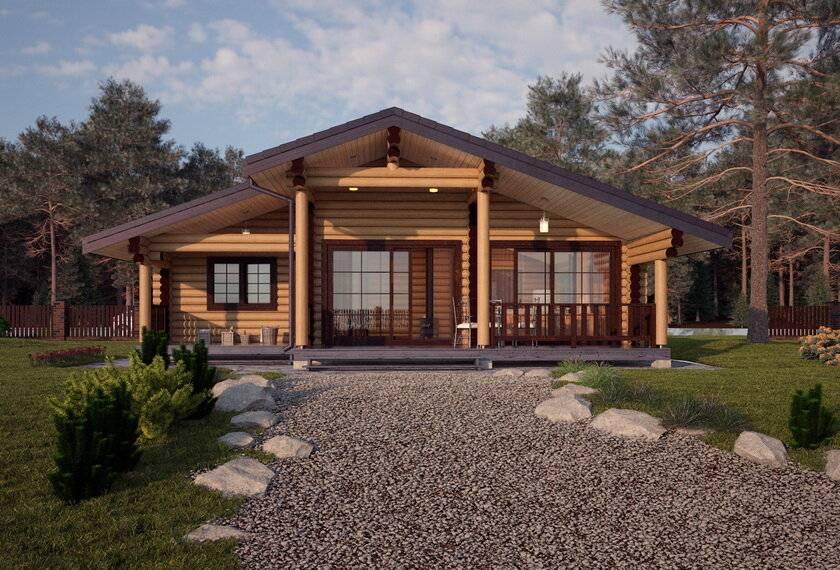 Одноэтажные каркасные дома: преимущества, проекты и фото-примеры