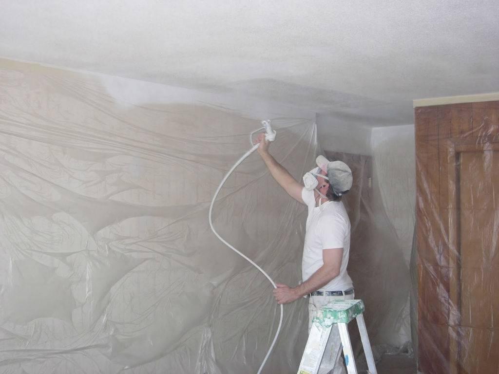 Пятна и разводы на потолке после покраски: в чем причина и как исправить?