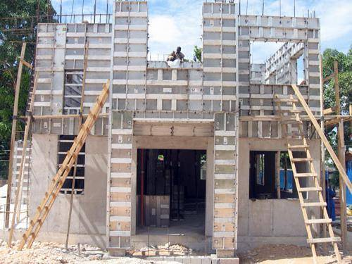 Процесс строительства многоэтажных домов по монолитной технологии | папа мастер!