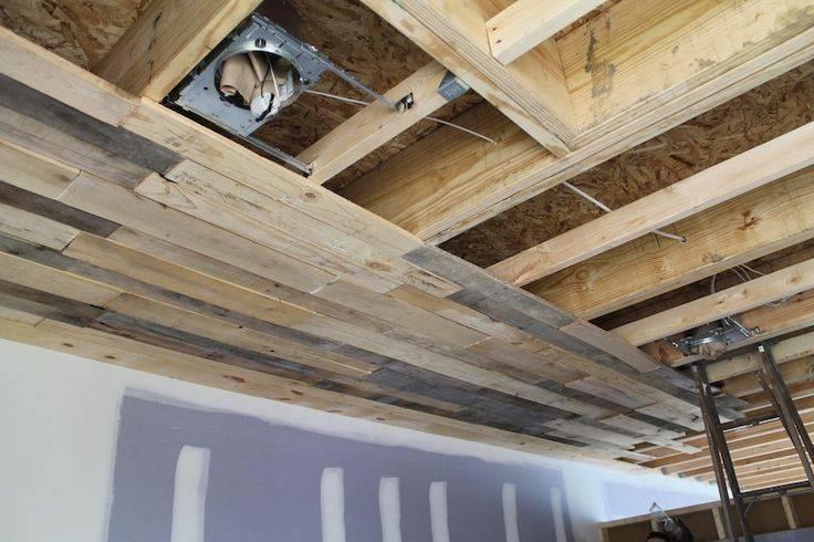 Способы выравнивания деревянного потолка - самстрой - строительство, дизайн, архитектура.