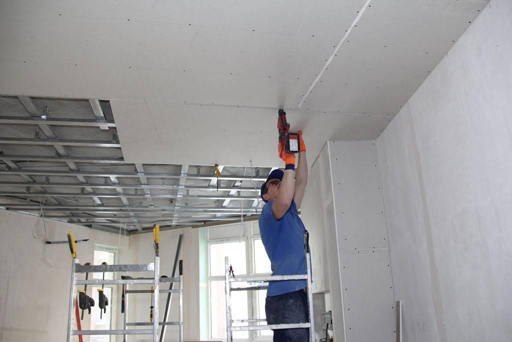 ?стоимость и монтаж потолочного гипсокартона в хрущевке - блог о строительстве