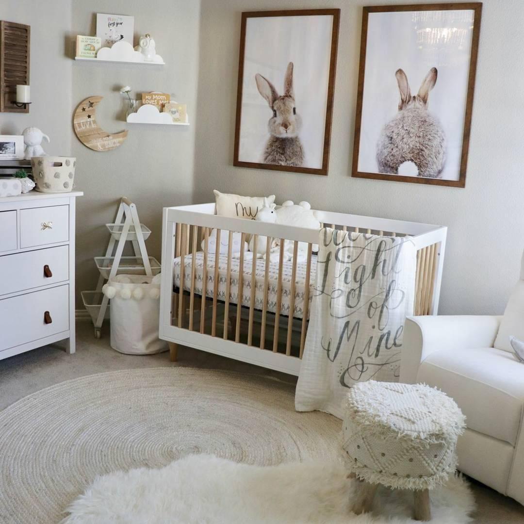 Мебель для новорожденных, что должно быть в детской комнате