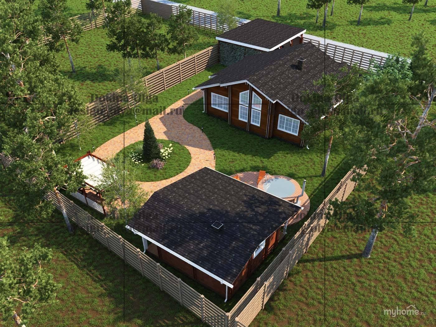 Дом на 3 сотках