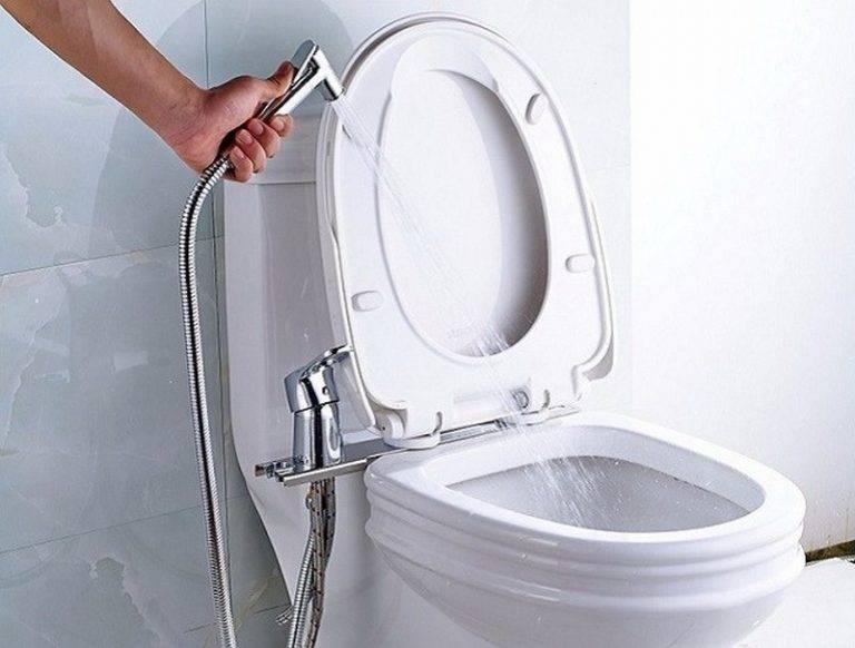 Гигиенический душ в туалете: возможности и назначение