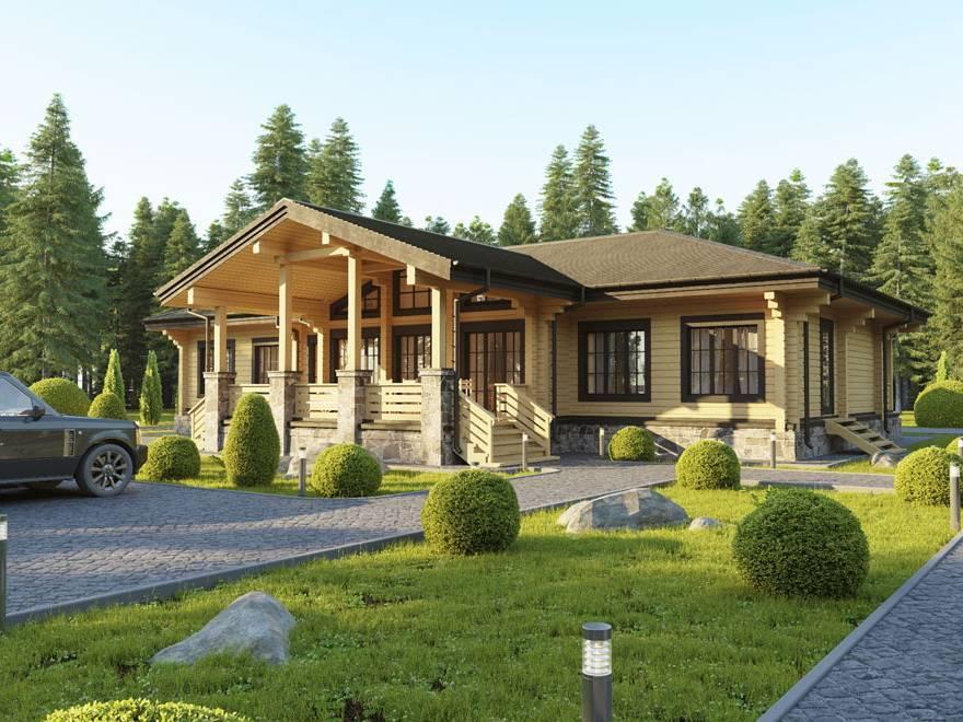 Дома из клееного бруса - строительство под ключ и проекты   низкие цены   русский стиль