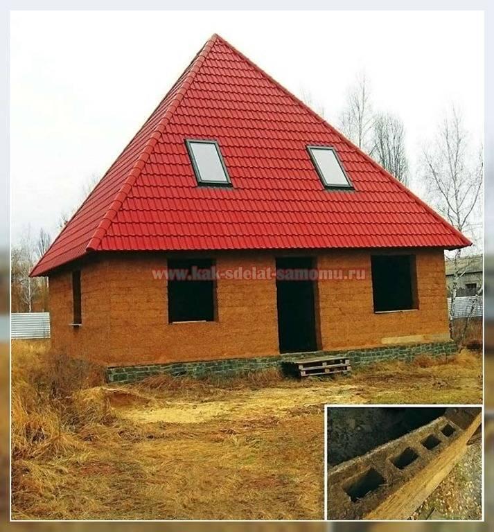Как построить дом из самана своими руками: преимущества и недостатки