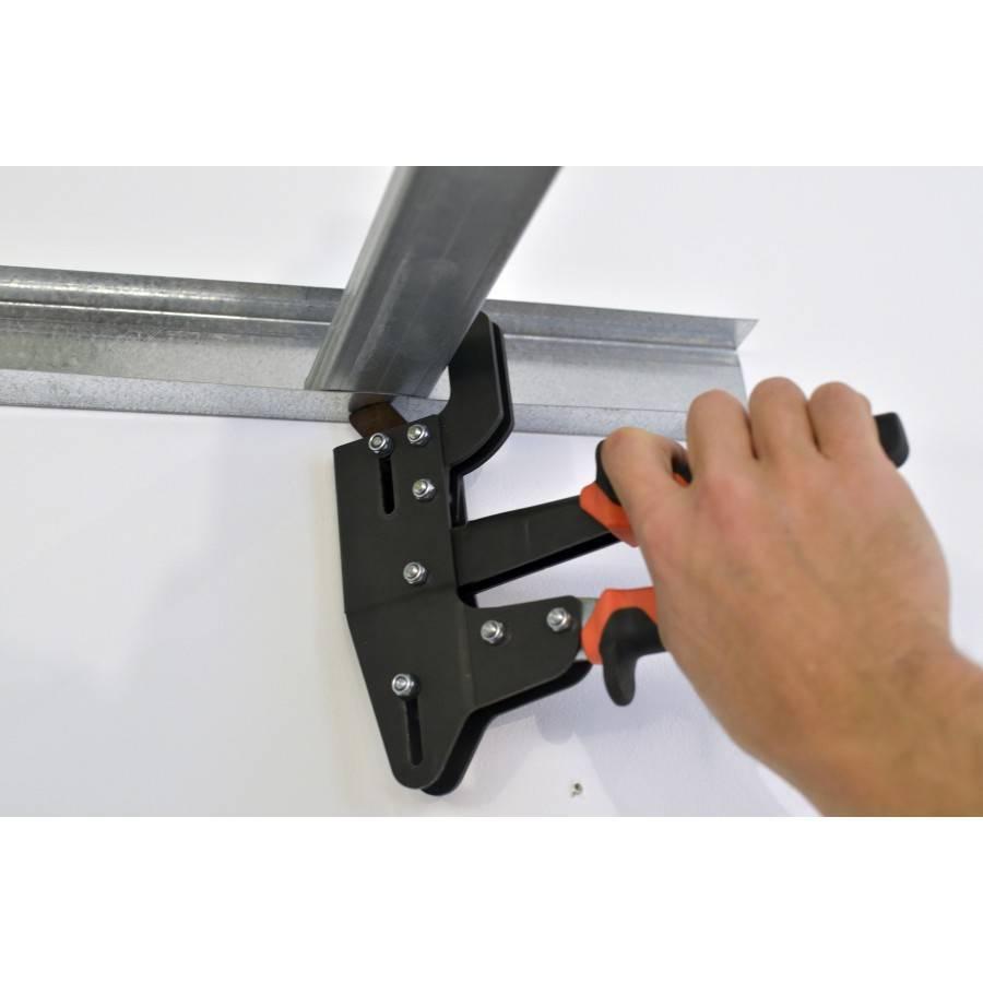 Инструменты применяемые для работы с гипсокартоном и профилями