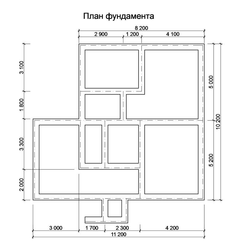 Ленточный фундамент чертеж. » строительство от а до я   енакиево - донецк