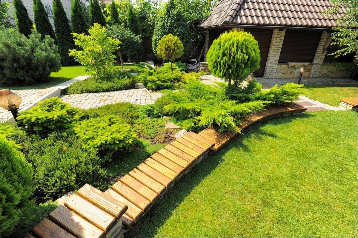 Ландшафтный дизайн дачного участка - 60 идей на фото