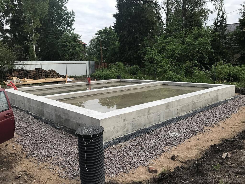 Как возвести столбчатый фундамент для домов из газобетонных блоков