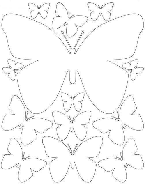 Бабочки на стену: 5 мастер-классов