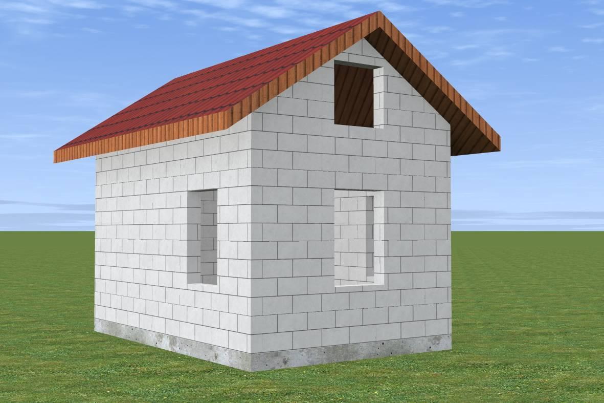 Сравнение стоимости дома из кирпича и газобетона