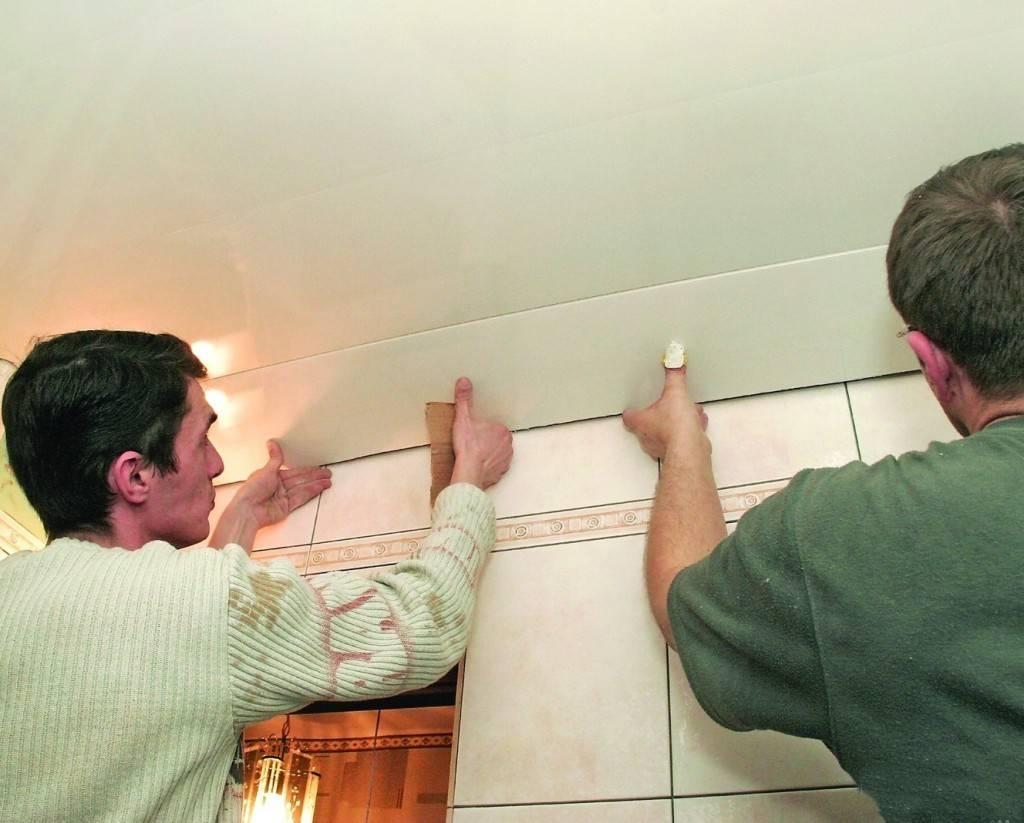 Потолок в ванной: 6 способов отделки