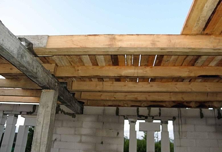 Деревянное перекрытие между этажами. особенности монтажа