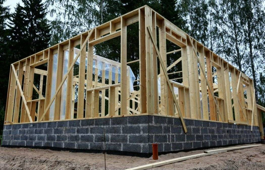 Строим каркасный дом своими руками: правила, (фото+видео)