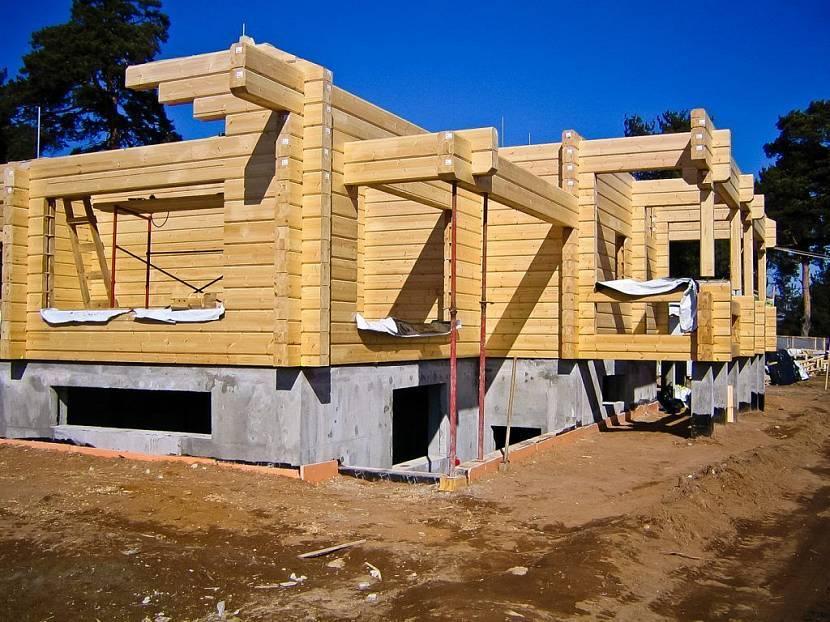 Построить дом из бруса: материал, технология, фото, видео