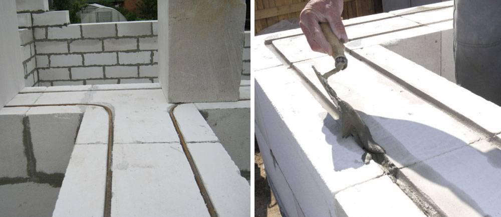 Газосиликатные блоки: кладка стен своими руками, армирование, клей - пена для монтажа