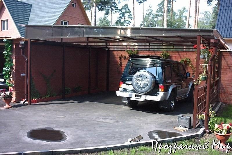 Где ставить авто на даче? строим площадку для автомобиля