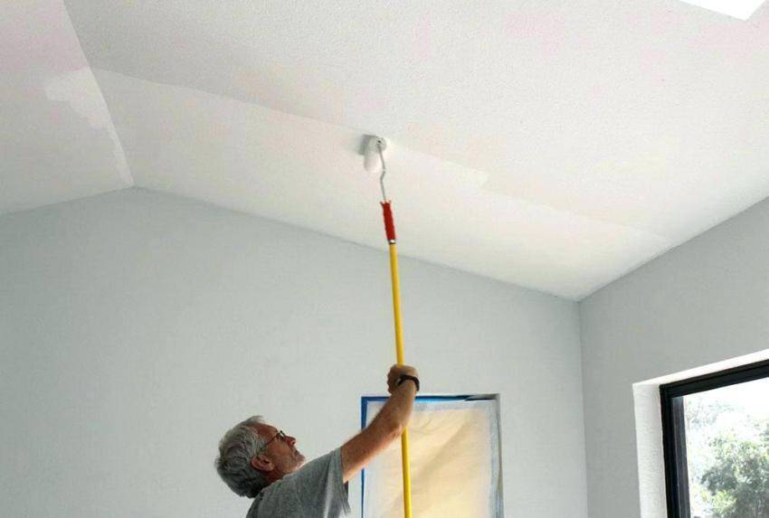 Побелка потолка: как правильно побелить по старой поверхности своими руками, цена материала и сколько стоит работа