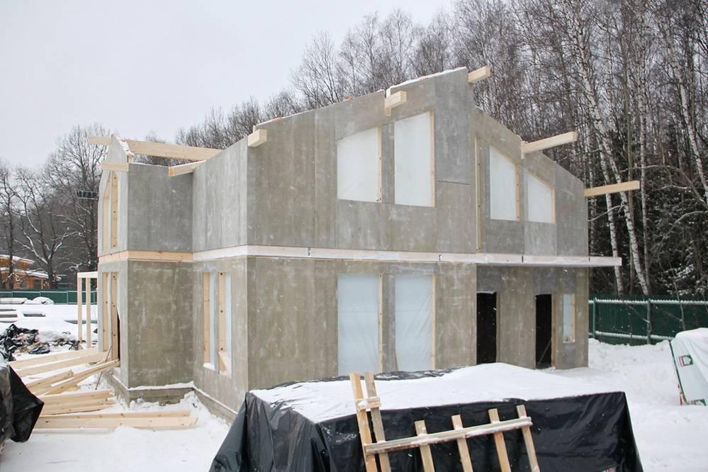 Фасад из цсп: пошаговая инструкция монтажу цементно-стружечных плит