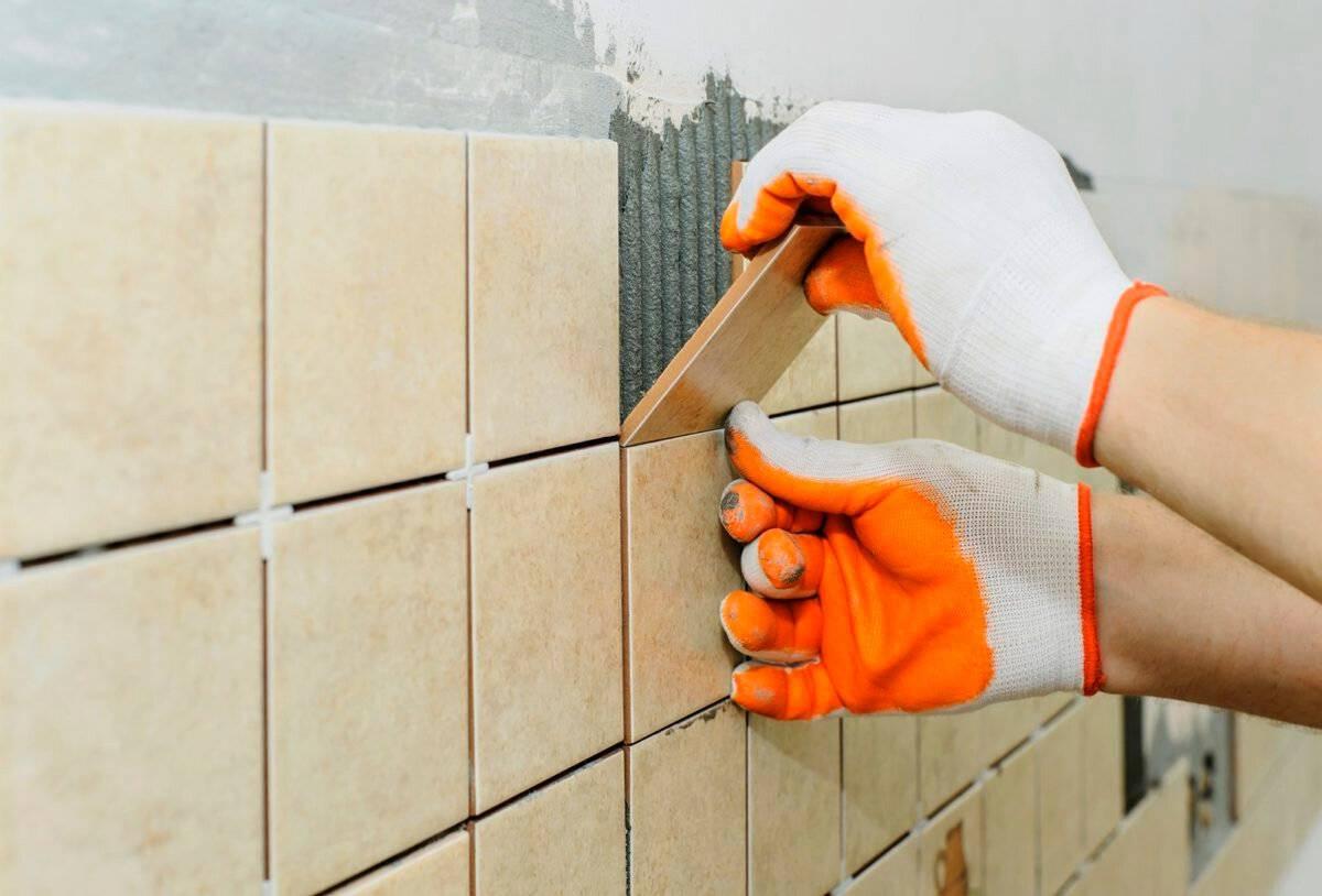 Укладка плитки в ванной своими руками - подробно каждый шаг
