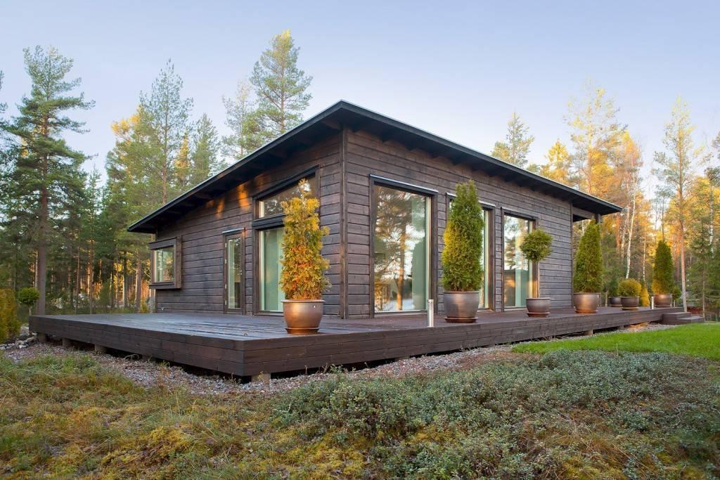 Финские одноэтажные каркасные дома: характеристики и описание конструкций