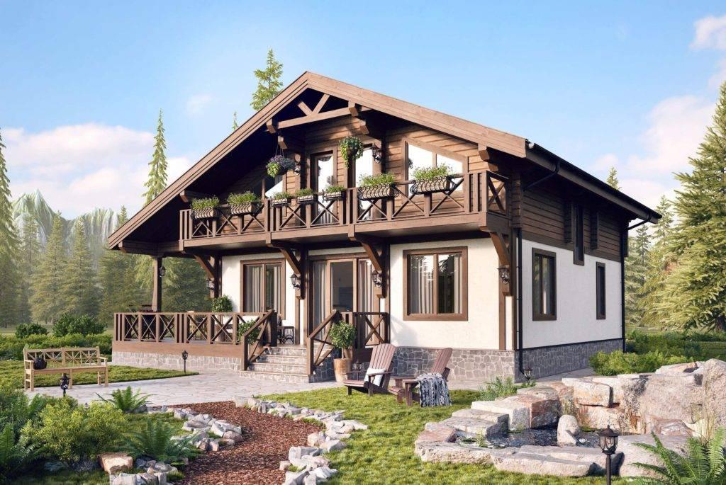 ?дома в стиле шале, особенности стиля, проекты, планировка и дизайн - блог о строительстве