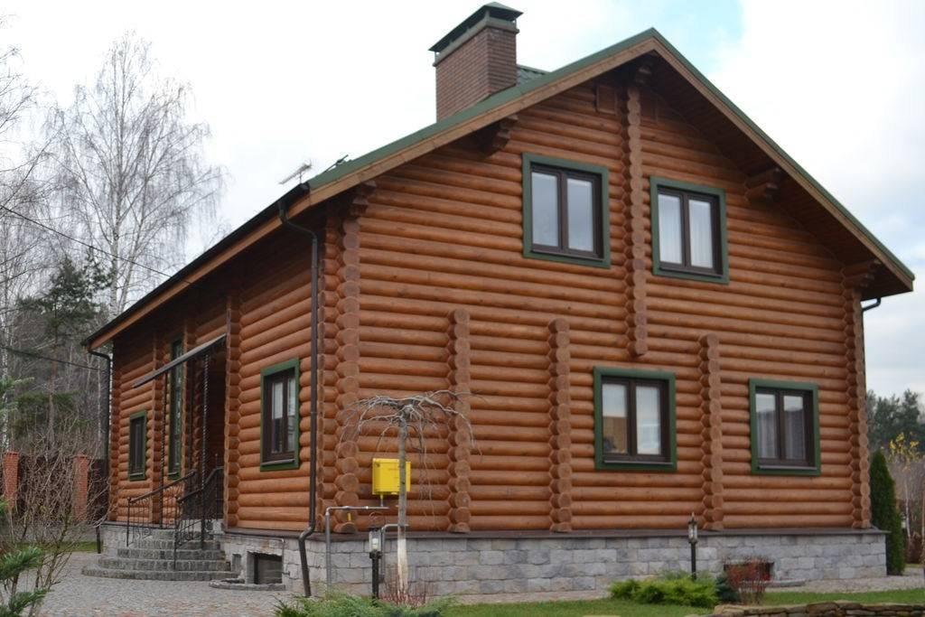 Дом из оцилиндрованного бревна: отзывы владельцев, плюсы и минусы
