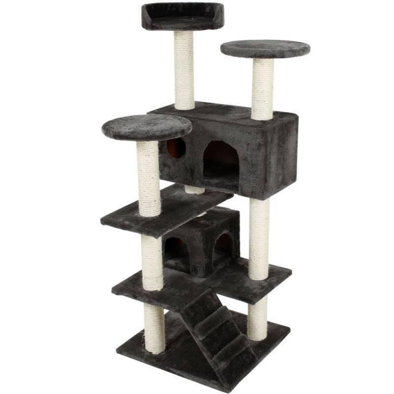 Как сделать когтеточку своими руками из подручных материалов: примеры создания домика для кошки