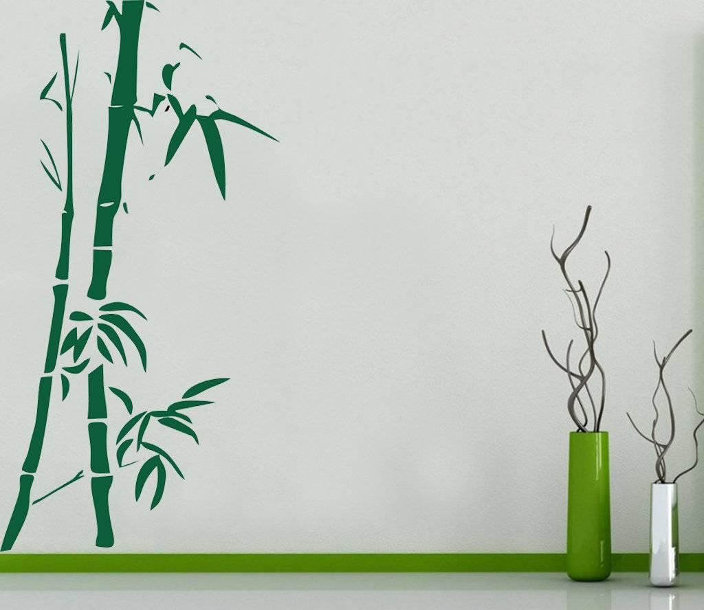 Трафареты для декора стен: 3 способа декорирования