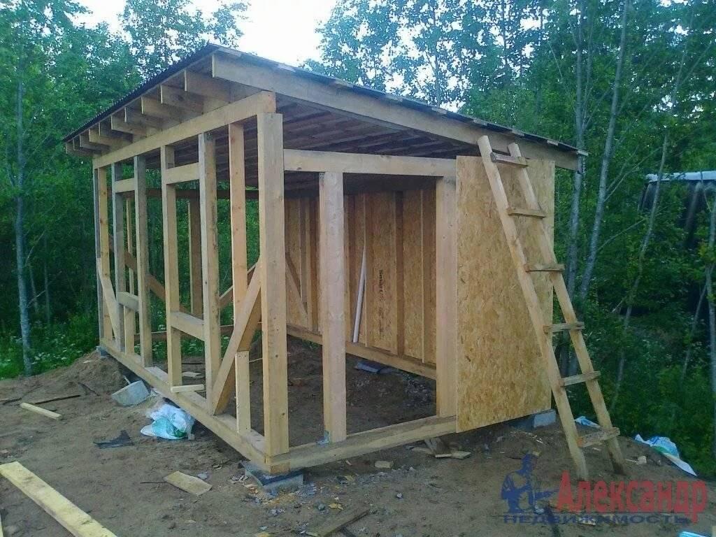 Сарай своими руками - пошаговая инструкция как построить и оформить на участке постройку (115 фото)