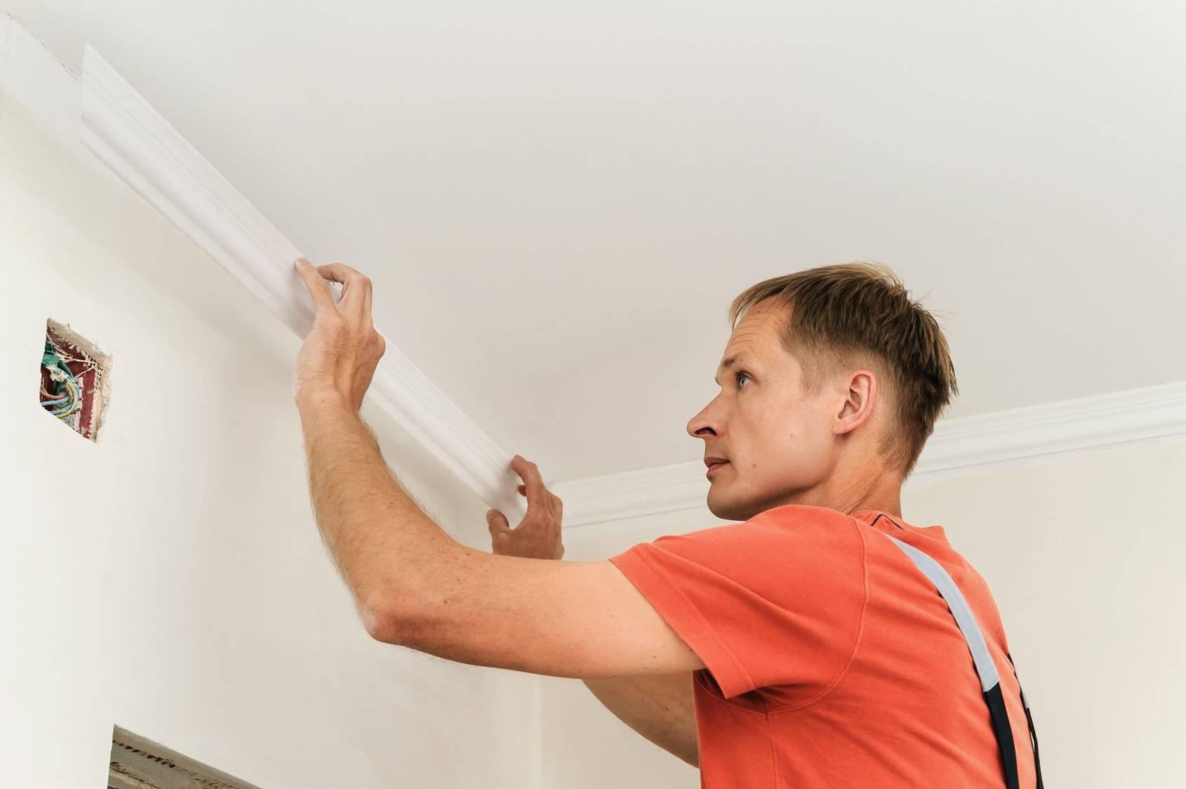 Натяжные потолки: цена за 1м2 с установкой и работой, своими руками монтаж