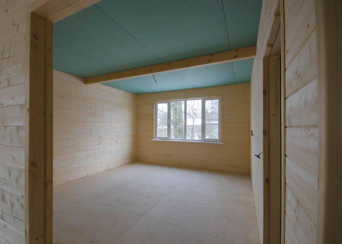 Чем отделать дом деревянный внутри гипсокартон или дсп