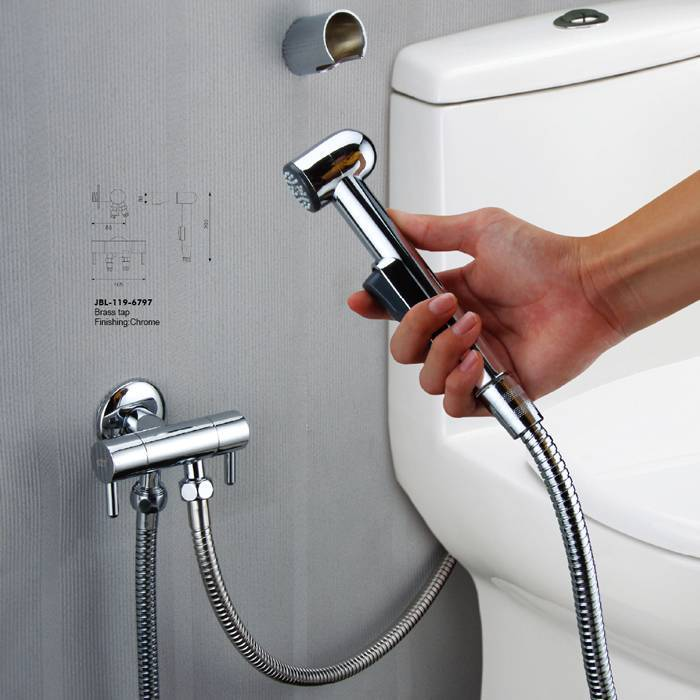 Гигиенический душ для унитаза - виды и варианты подключения