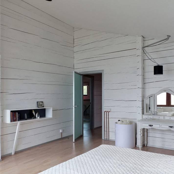 Чем покрасить деревянный потолок в белый цвет