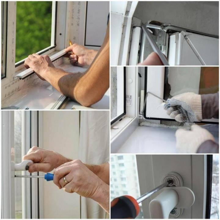 Как сделать ремонт пластиковых окон своими руками