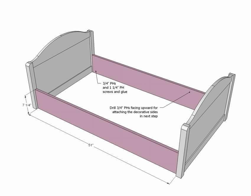 Кровать домик своими руками: где взять чертеж, как учесть пожелания детей, как сделать из бруса и собрать своими руками, преимущества двухъярусного варианта