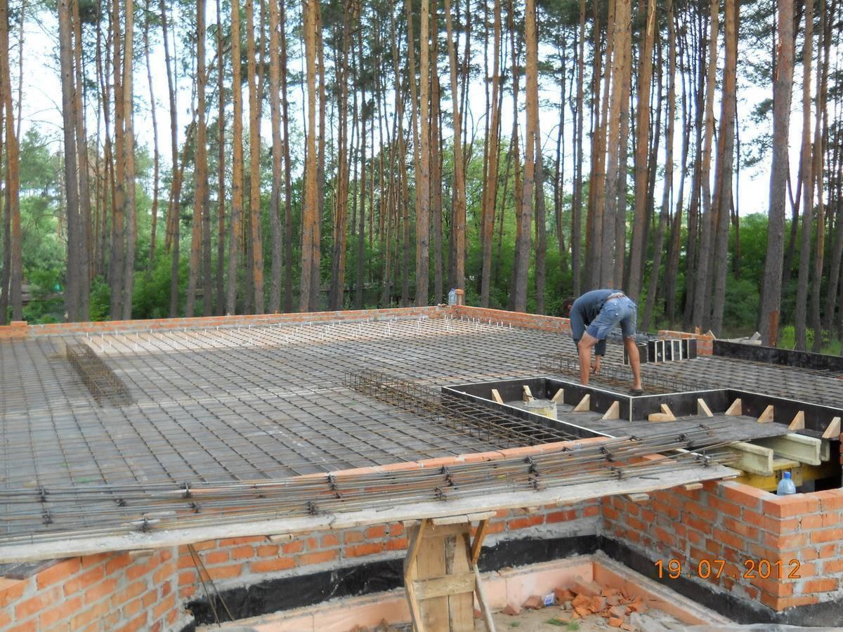 Как правильно сделать перекрытия второго этажа. потолочное перекрытие в частном доме