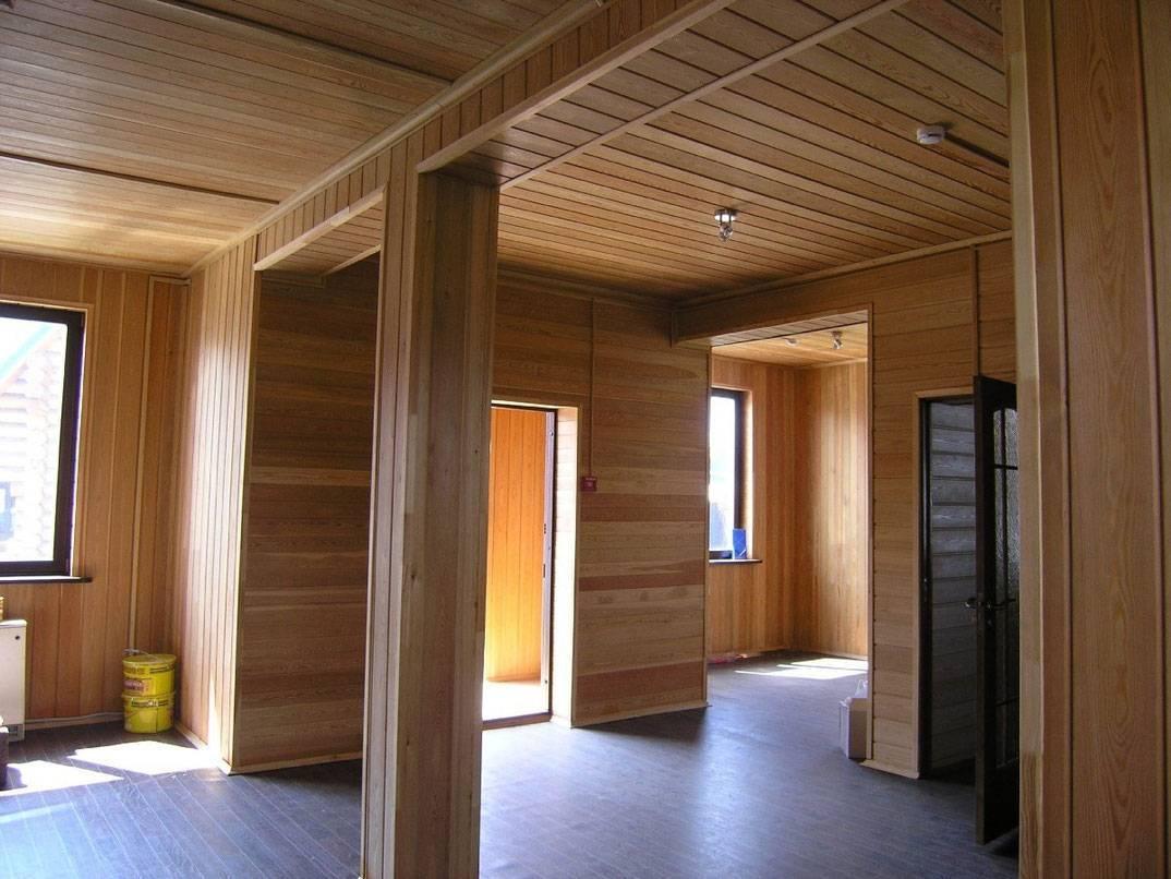 Оригинальные идеи внутреннего оформления дома из бруса