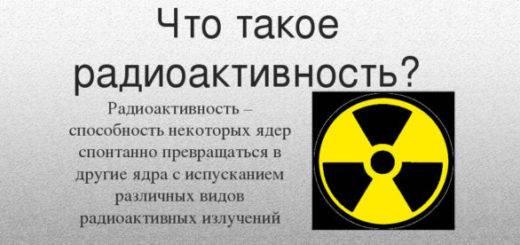 Радиация: общие сведения, единицы измерения, влияние на человека
