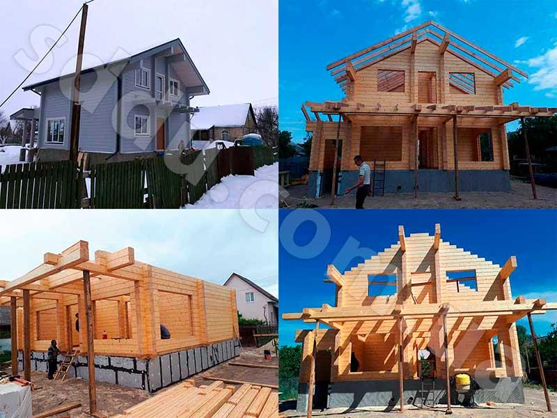 Дома из дерева по новым технологиям
