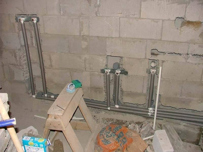 Ввод вод: как смонтировать водопровод из пластиковых труб своими руками