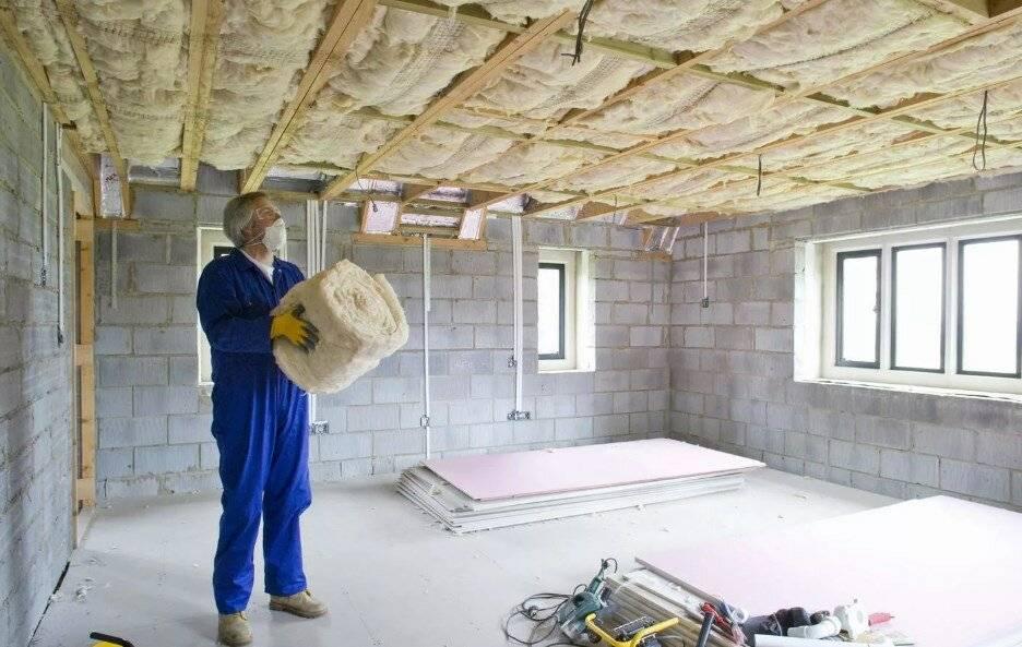 ? шумоизоляция потолка в квартире своими руками: выбор материалов и монтаж