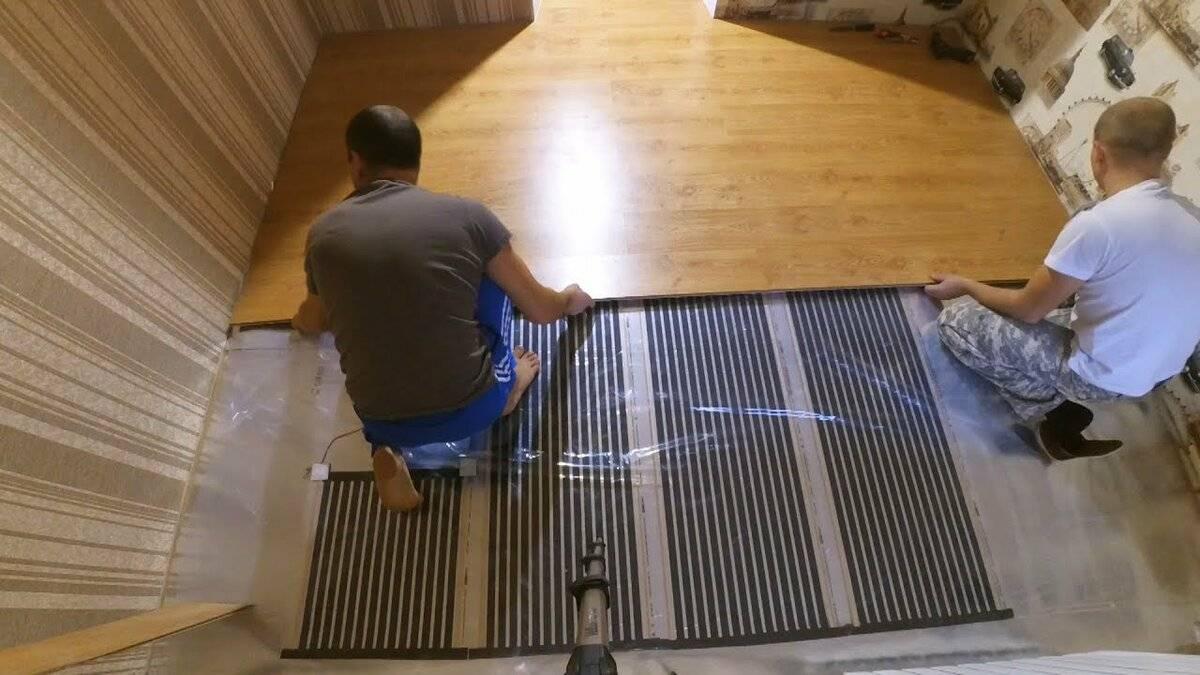 Устанавливаем теплый пол на кухне под плитку