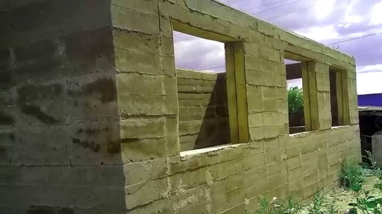 Дом из опилкобетона