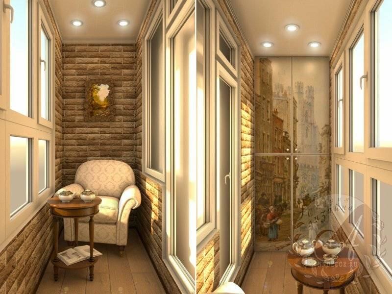 Обшивка балкона внутри: топ 6 материалов