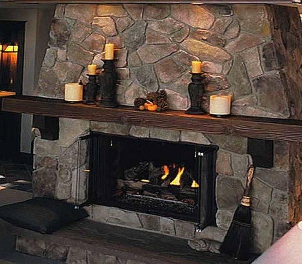 Облицовка камина: как облицевать своими руками, чем отделать, обшивка плиткой и керамогранитом, варианты, фото