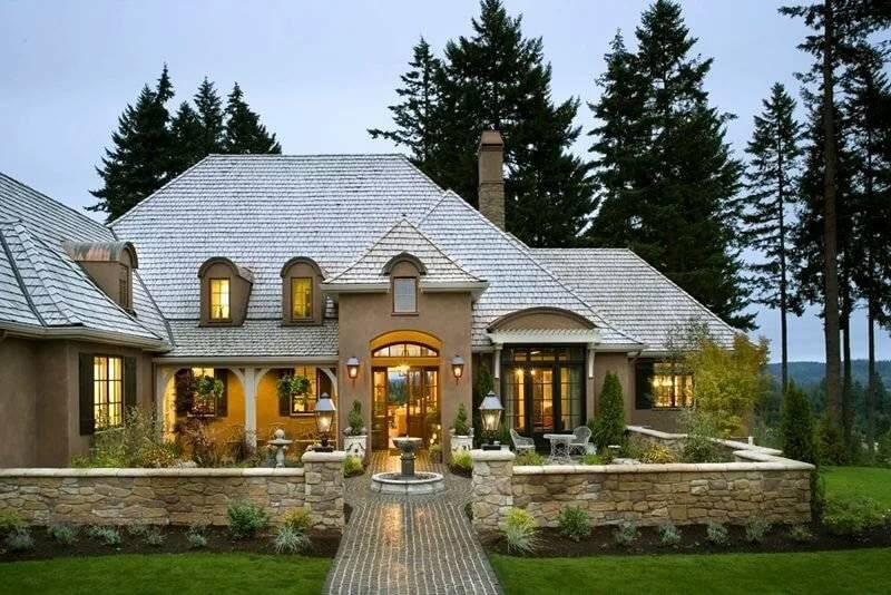 Фото частных домов: красивые варианты оформления интерьера и экстерьера загородного дома