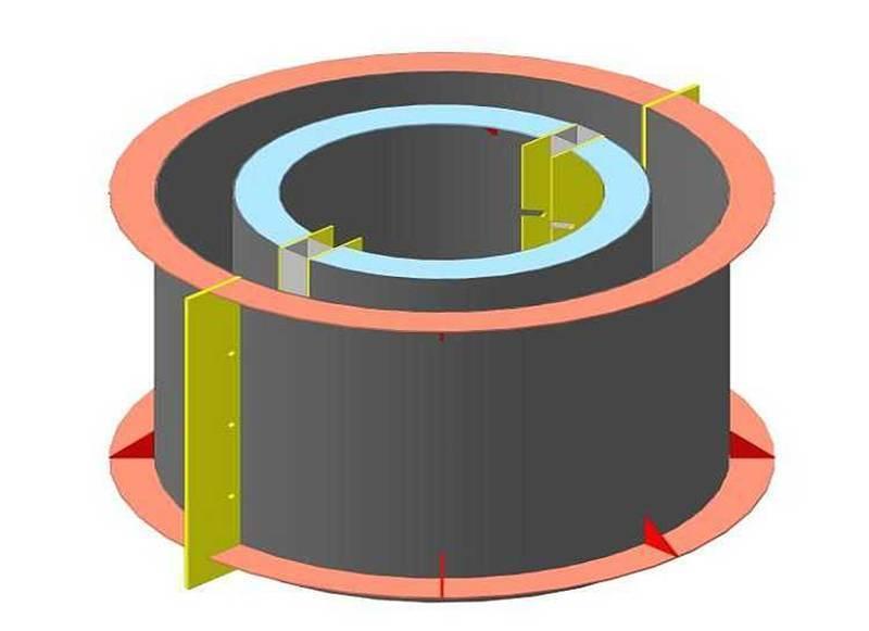 Бетонное кольцо своими руками - 135 фото изготовления бетонных колец своими руками
